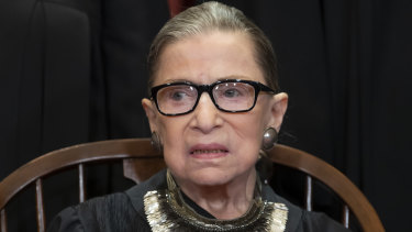 Justice Ruth Bader Ginsburg says she intends to continue to serve.