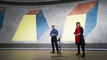 Sol de Witt's Wall Drawing no 380 a-d has not been on display for 31 years.
