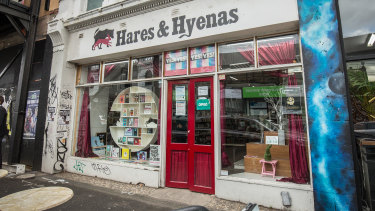 Melbourne's iconic LGBTI bookshop, Hares & Hyenas in Fitzroy