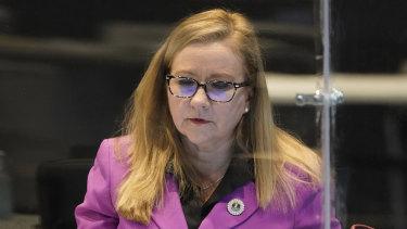 Virginia state Senator Amanda Chase.