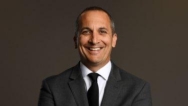 NRL chief executive Andrew Abdo.