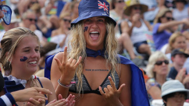 For some, January 26 is a day of celebration. These people celebrated the day last year at Cronulla.
