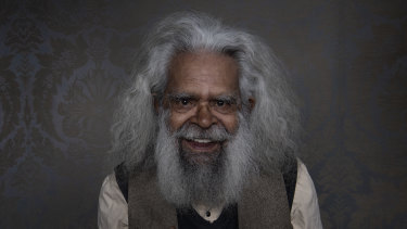 Mindful man: Uncle Jack Charles is a man on a mission to help his people.
