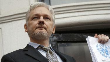 Julian Assange, founder of Wikileaks.