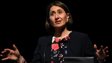 High rates of population growth are straining parts of Sydney, according to NSW Premier Gladys Berejiklian.