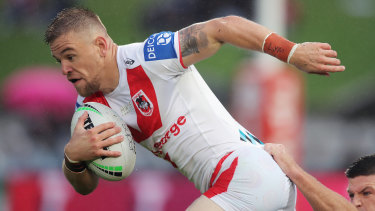 Matt Dufty won't be at the Dragons in 2022.