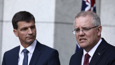 Energy Minister Angus Taylor and Prime Minister Scott Morrison have announced $1 billion in funding for energy projects.