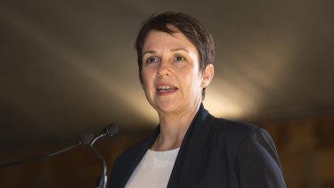 Roads Minister Jaala Pulford.