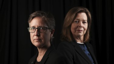 "ACTU Secretary Sally McManus, left with President Michele O'Neil, called the changes ""dangerous and extreme""."