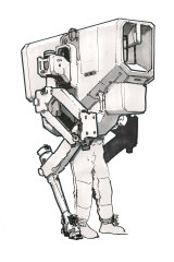 One of the early concept sketches by Peter Gregory for Antony Hamilton's <i>Token Armies</i>.