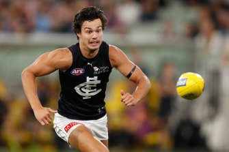 Jack Silvagni's shoulder complaint isn't as bad as the Blues initially feared.