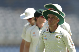 Marcus Harris hopes to work his way back into the Australian Test team.