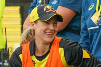 Ellyse Perry is due to make her return to international cricket on Sunday in New Zealand.