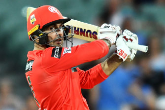 Mohammad Nabi took control of the game to deliver the Renegades victory.