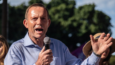 Former prime minister Tony Abbott was requested to register as an agent of foreign influence.