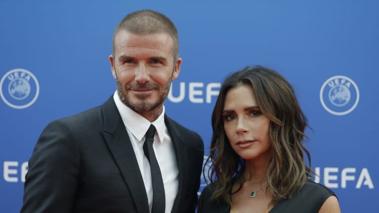 The Beckhams may be back for their second royal wedding this year, too.