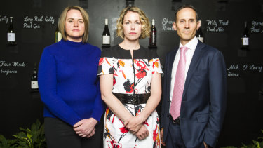 Chief operating officer of The Tradies Canberra Alison Percival, Labor candidate Alicia Payne, and Labor member for Fenner Andrew Leigh want to keep penalty rates despite national push from Clubs Australia to get rid of them.