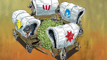 Meet the 'neobanks' trying to shatter the big four banking oligopoly