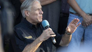 Texas Governor Greg Abbott: monitor social media for signs of violence to come.