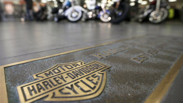 The iconic American brand Harley-Davidson will shift some production from the US to Europe.