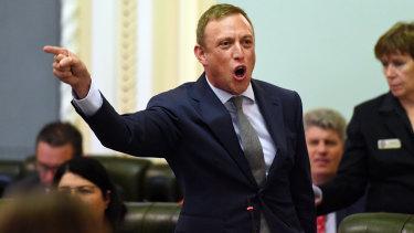Health Minister Steven Miles has slammed online anti-vaxxers.