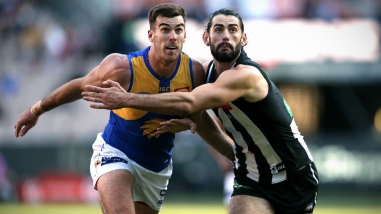 Scott Lycett and Brodie Grundy's ruck battle will be an intriguing one.