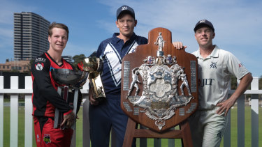 Victoria has become the first state to win the JLT One-Day Cup, JLT Sheffield Shield and KFC BBL trophies in a single season.