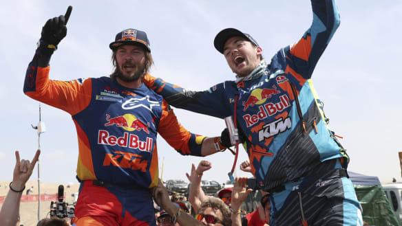 Australian Price wins second Dakar motorcycling title
