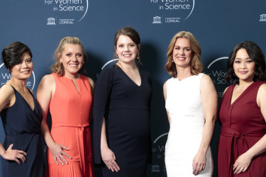 This year's awards recognised the amazing work of five inspiring women.