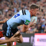'I want redemption': Blues' Wighton hellbent on intercept revenge