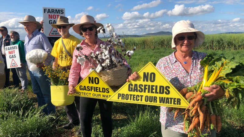 afr.com - Angela Macdonald-Smith, Elouise Fowler - Santos under fire after Narrabri gas win