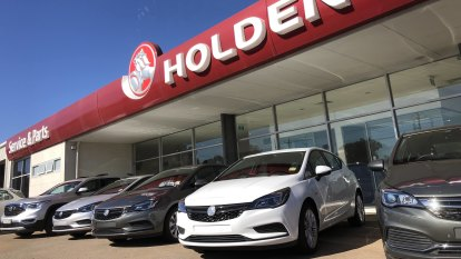 Holden posts lowest sales since 1954 as new car sales hit eight-year low