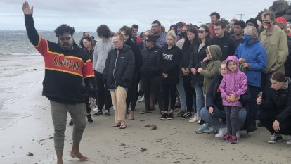 A lesson in the history of invasion from Victoria's first massacre beach