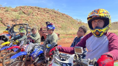 What's the best way to experience the Pilbara outback? On a dirt bike
