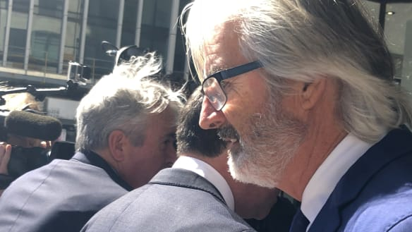 John Jarratt fronts court for the first time over sexual assault charge
