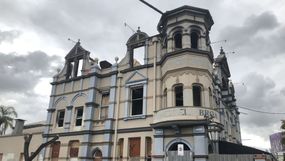 Government steps in to protect what's left of the Broadway Hotel