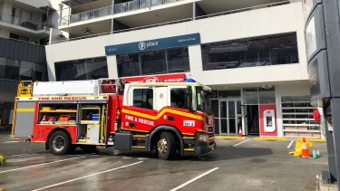 An East Brisbane IGA caught fire last night. Emergency services are on scene.