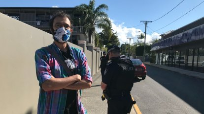 Police serve court documents to Brisbane councillor over protest
