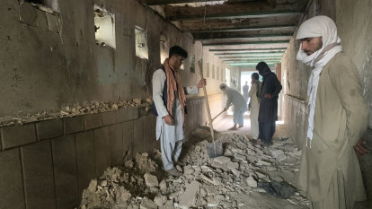 Explosion at mosque in Afghan city of Kandahar causes heavy casualties
