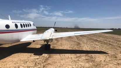 Young pilot fights for life after plane crash on remote Queensland farm
