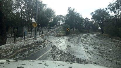 Severe hailstorm hits Melbourne's eastern suburbs