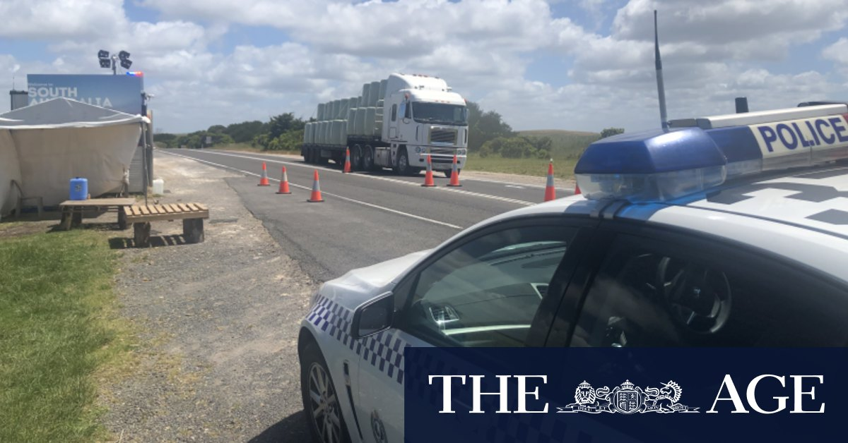 'Absolutely nothing' stopping SA drivers from entering Victoria: Health Minister – The Age