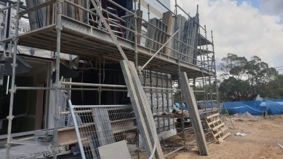Safety concerns for workers at school construction sites over holidays