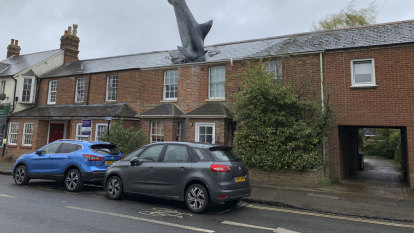 Postcard: Shark attack 'to shock people' lives on in Oxford suburb