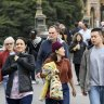 'Buzz is coming back to Melbourne': Weekend foot traffic nears pre-pandemic level