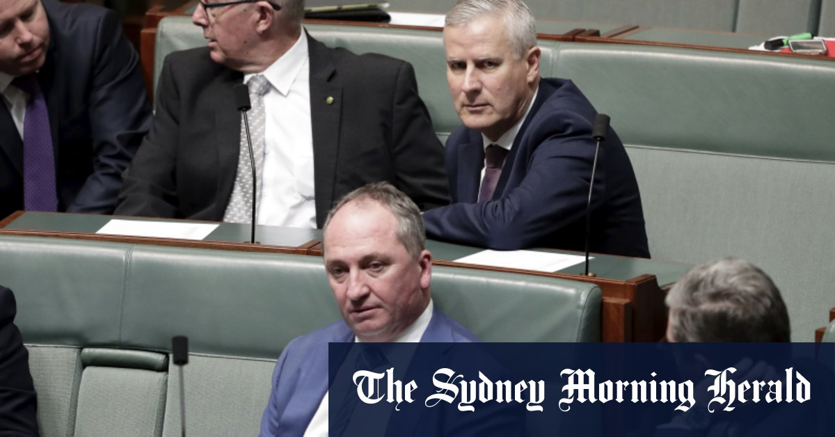 Joyce circles McCormack as Nationals MPs consider switch