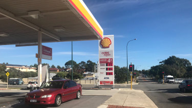 Perth petrol prices hit a 15-year low on Tuesday, with prices as low as 84.9 cents a litre.