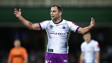 Will he or won't he? Cameron Smith has yet to announce whether he will play on in 2020.