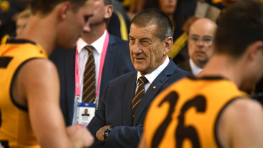 Hawthorn president Jeff Kennett has defended the club's reliance on pokies.