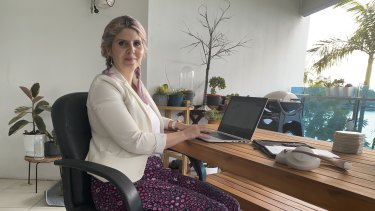 Brisbane scientist Katie Havelberg says there are positives and negatives to working from home.